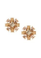Banana Republic Floral Stone Stud Earring