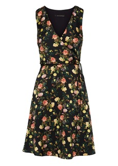 Banana Republic Floral Wrap Dress