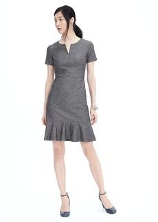 Flounce Bottom Dress