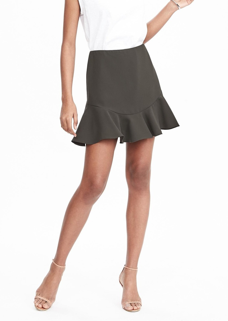 Banana Republic Flounce Bottom Skirt