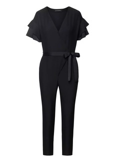 Banana Republic Flutter-Sleeve Jumpsuit