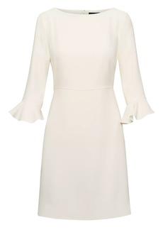 Banana Republic Flutter-Sleeve Mini Dress