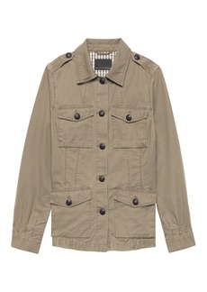 Four-Pocket Utility Jacket