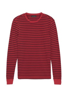 Banana Republic French Terry Stripe Sweatshirt
