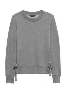 Banana Republic French Terry Tie-Side Sweatshirt