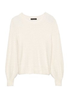Banana Republic Fuzzy Crew-Neck Sweater
