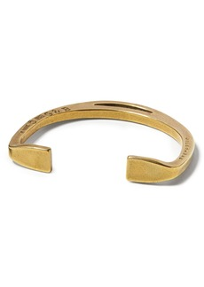 Banana Republic Giles & Brother &#124 Antique Brass Stirrup Cuff