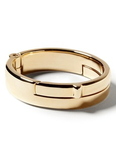 Banana Republic Giles & Brother &#124 Gold Wide Latch Cuff