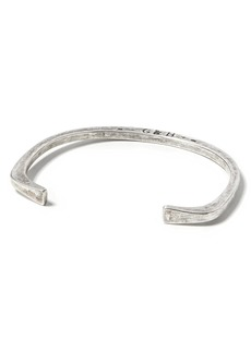 Banana Republic Giles & Brother &#124 Silver Stirrup Cuff