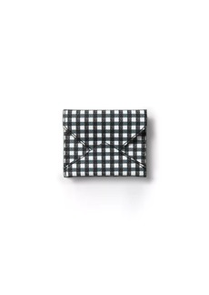 Banana Republic Gingham Envelope Card Case