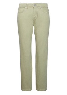 Girlfriend Green Wash Cropped Jean