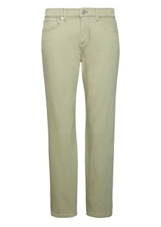 Banana Republic Girlfriend Green Wash Cropped Jean