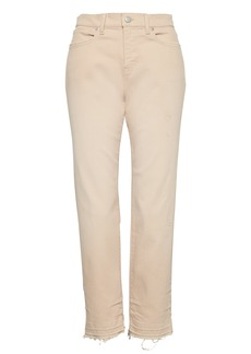 Banana Republic Girlfriend Khaki Wash Cropped Jean