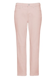 Banana Republic Girlfriend Pink Wash Cropped Jean
