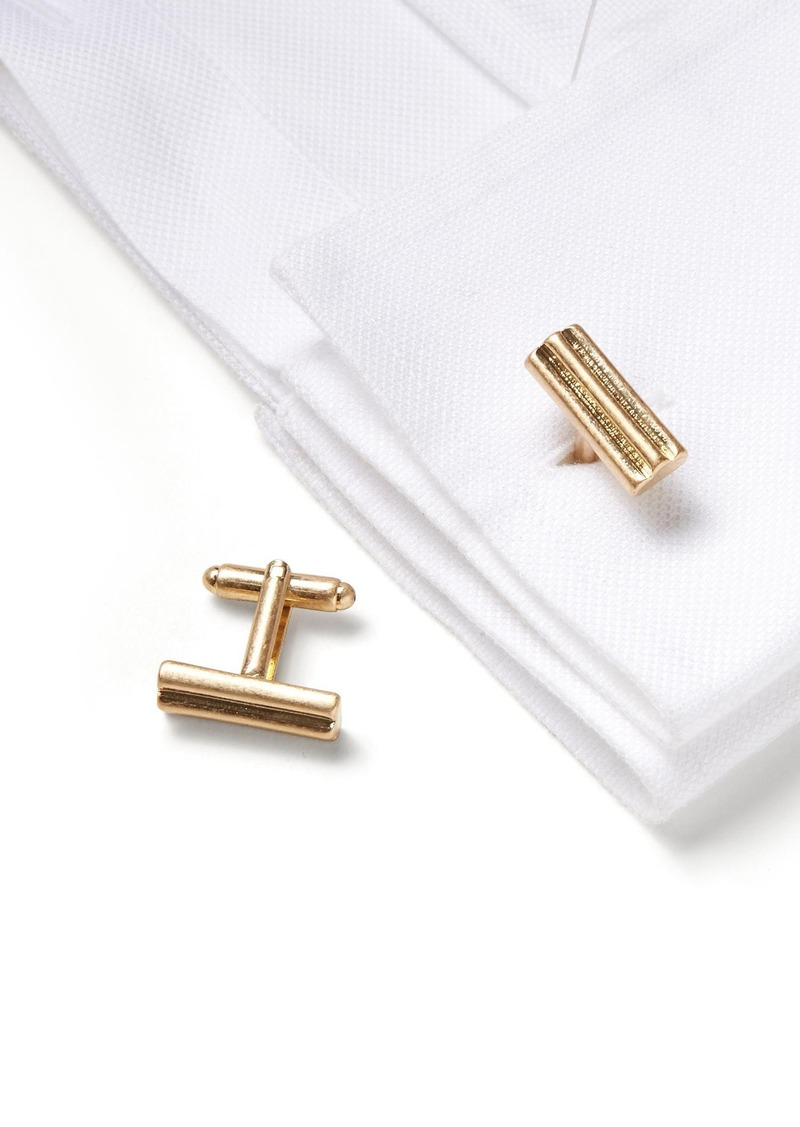 Banana Republic Gold Bar Cuff Link