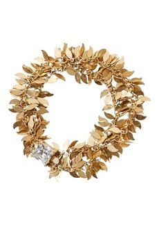 Banana Republic Golden Leaves Bracelet