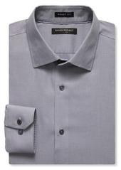 Banana Republic Grant-Fit Non-Iron Texture Solid Shirt