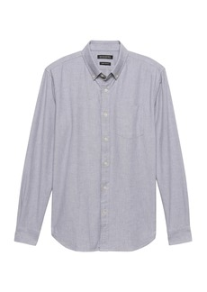 Banana Republic Grant Slim-Fit 100% Cotton Oxford Shirt