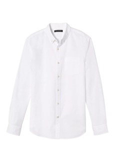 Banana Republic Grant Slim-Fit Cotton Oxford Shirt