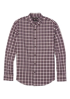 Banana Republic Grant Slim-Fit Gingham Flannel Button-Down Shirt