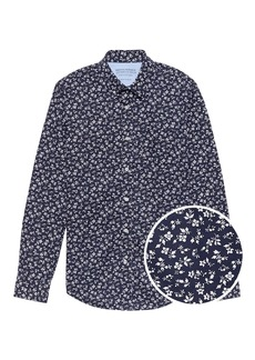 Banana Republic Grant Slim-Fit Luxe Poplin Floral Shirt
