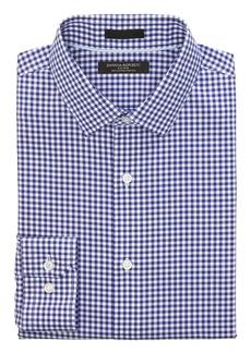 Banana Republic Grant Slim-Fit Non-Iron Gingham Dress Shirt