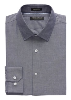 Banana Republic Grant Slim-Fit Non-Iron Herringbone Shirt