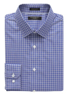 Banana Republic Grant Slim-Fit Non-Iron Stretch Check Shirt