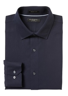 Banana Republic Grant Slim-Fit Non-Iron Stretch Solid Shirt