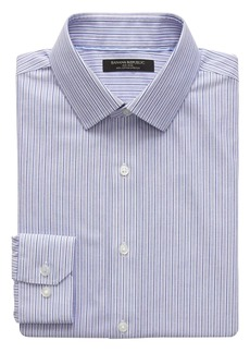 Banana Republic Grant Slim-Fit Non-Iron Stripe Shirt