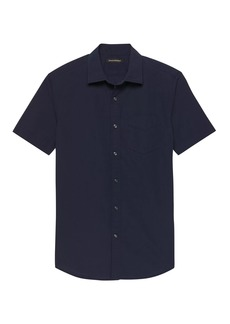 Banana Republic Grant Slim-Fit Seersucker Shirt