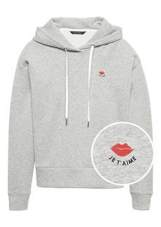 Banana Republic Graphic Hoodie Sweatshirt
