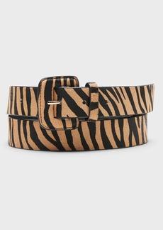 Banana Republic Haircalf Leather Belt