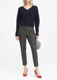 Banana Republic Hayden Tapered-Fit Pull-On Ankle Pant