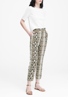 23d7c35a16f3 On Sale today! Banana Republic Avery Ankle-Fit Piece   Co. Batik Pant