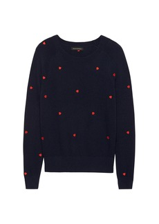 Banana Republic Heart Embroidery Sweater