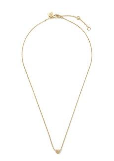Banana Republic Heart with Stone Pendant Necklace