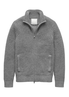 Banana Republic Heritage Alpaca-Blend Sweater Jacket