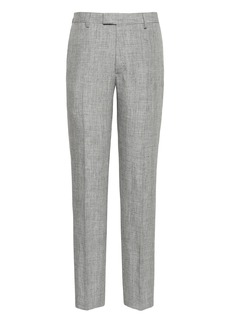 Banana Republic Heritage Athletic Tapered Linen Suit Pant