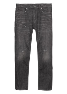 Banana Republic Heritage Athletic Tapered Medium Wash Jean