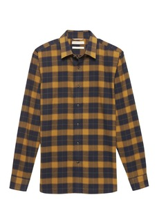 Banana Republic Heritage Buffalo Plaid Flannel Shirt