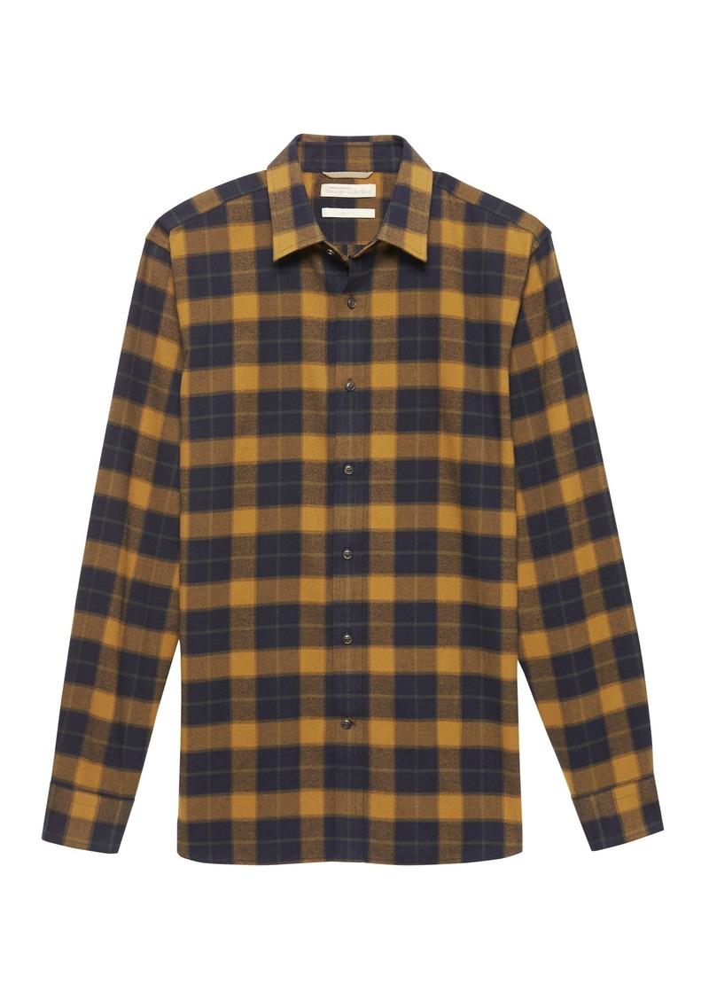 Banana Republic Heritage Buffalo Plaid Flannel Shirt