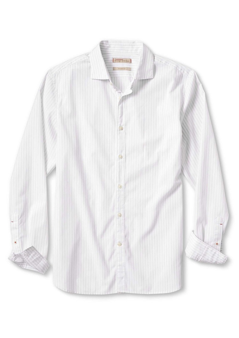 Banana Republic Heritage Camden-Fit Custom Wash Stripe Shirt