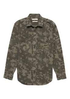 Banana Republic Heritage Camo Shirt Jacket
