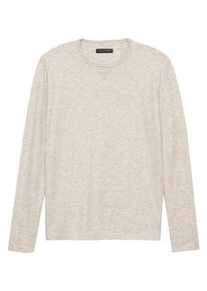 Banana Republic Heritage Cotton-Yak Wool Crew-Neck T-Shirt