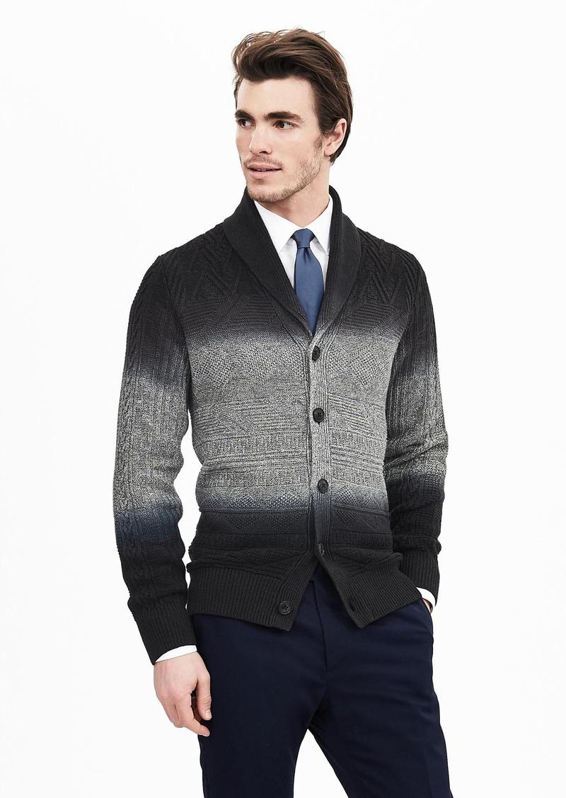 Banana Republic Heritage Dip-Dye Linen Sweater