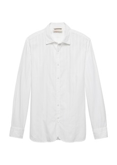 Banana Republic Heritage Grant Slim-Fit Stripe Shirt