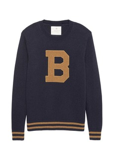 Banana Republic Heritage Letterman Sweater