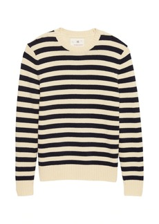 Banana Republic Heritage Italian Recycled Wool Blend Stripe Sweater