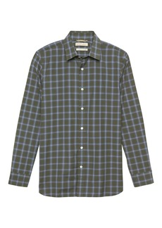 Banana Republic Heritage NEW Slim-Fit Plaid Shirt